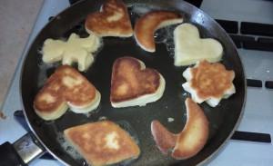 Рецепт как приготовить печенье на сковороде